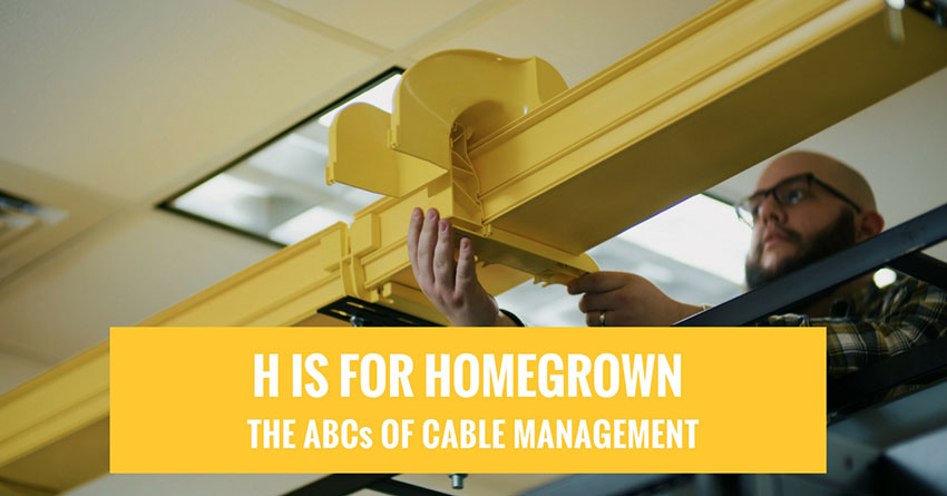 Homegrown: WaveTrax cable management parts made in the USA