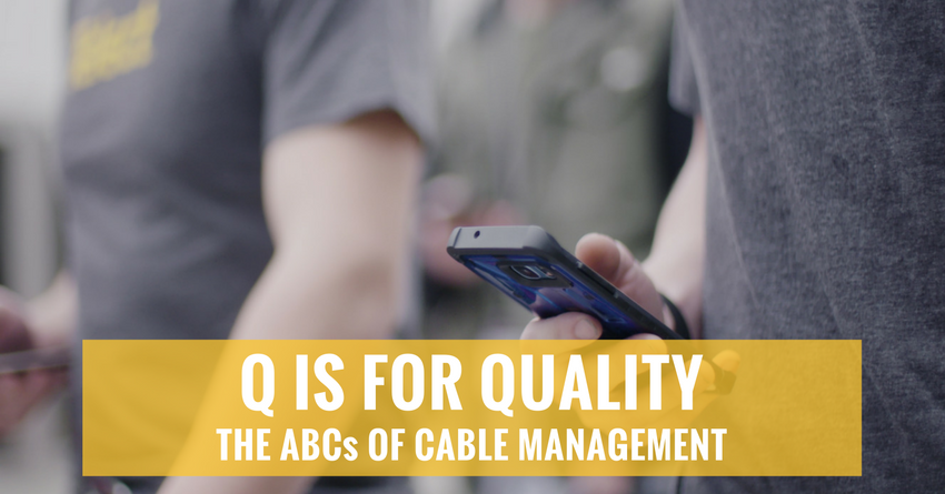 Quality: A differentiator in the network world